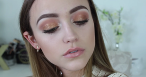 Burnt Gold Makeup Tutorial | kathleenlights | Youtube